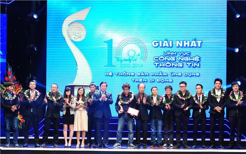 ICDREC at Vietnam Talent Award 2014