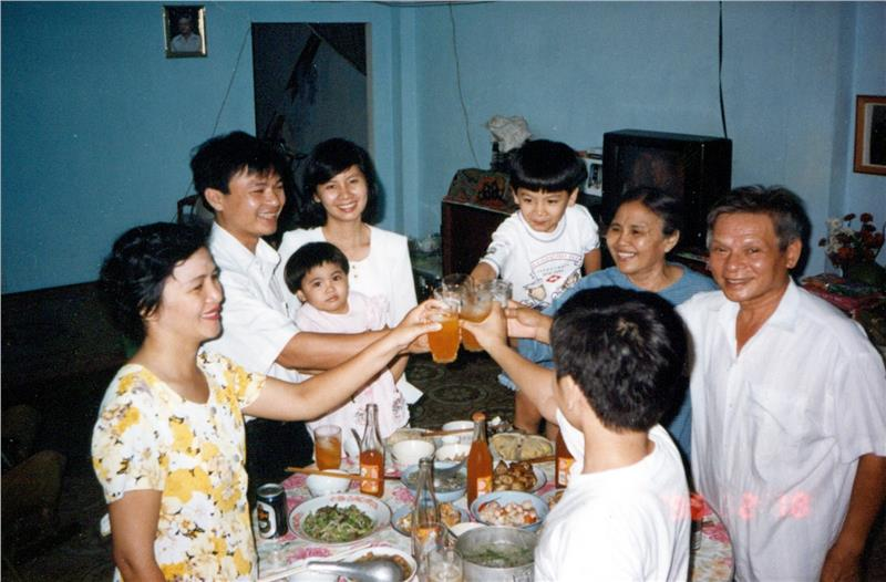 A typical Vietnamese family