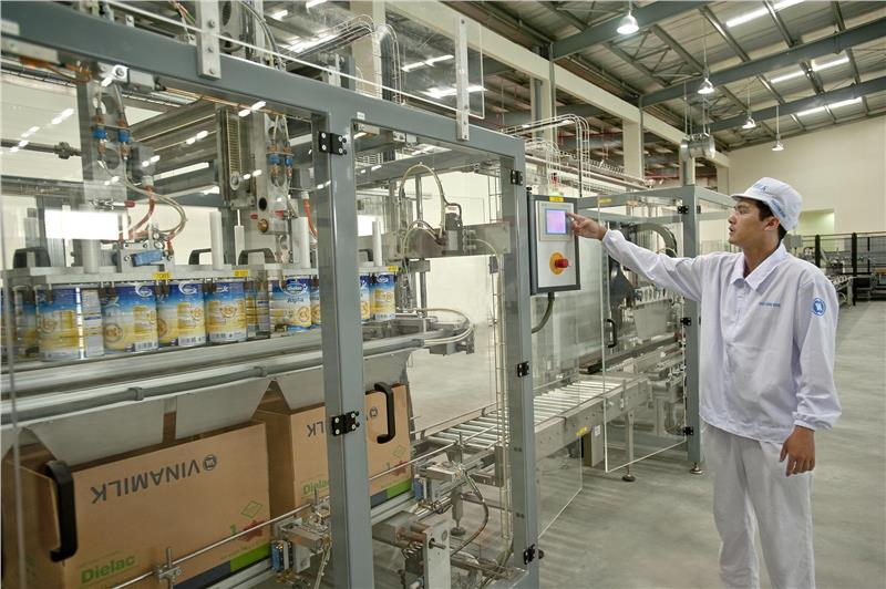 Advanced technology used in Vinamilk factory