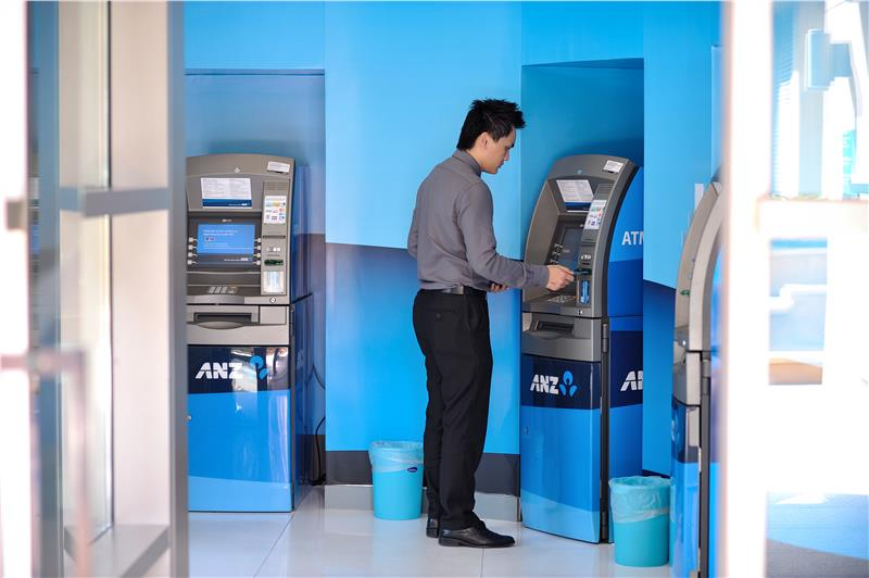 ANZ Bank ATM in Ho Chi Minh City