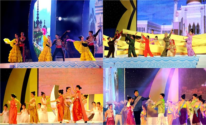 Art performances of ASEAN countries in the opening ceremony