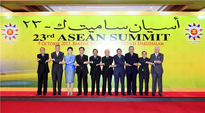 ASEAN Summit in 2013