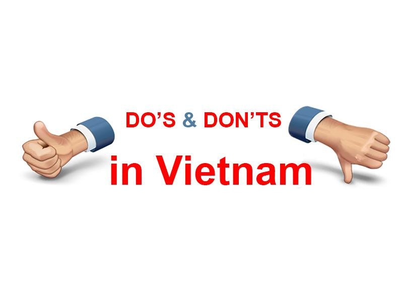 Dos and donts in Vietnam during your travel