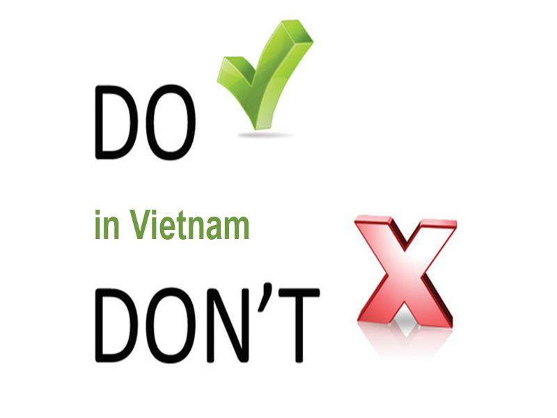 Dos & Donts in Vietnam