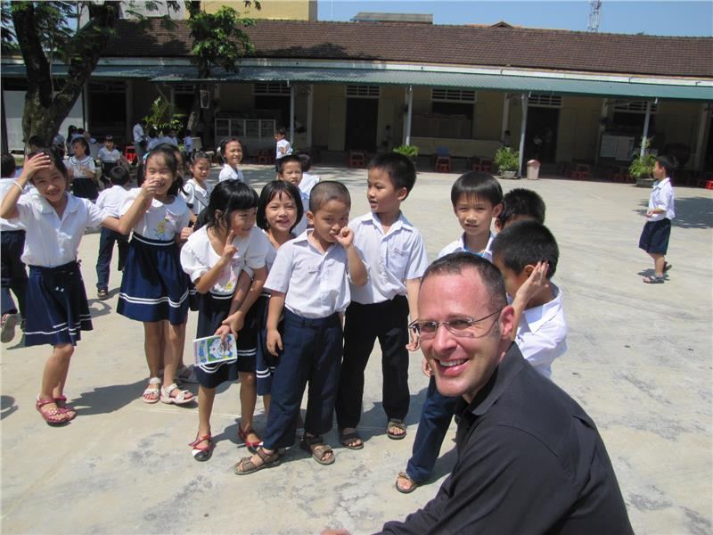 English teacher in Vietnamese school