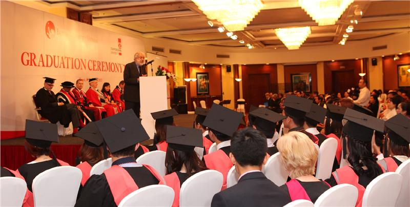 Graduation Ceremony in British University Vietnam