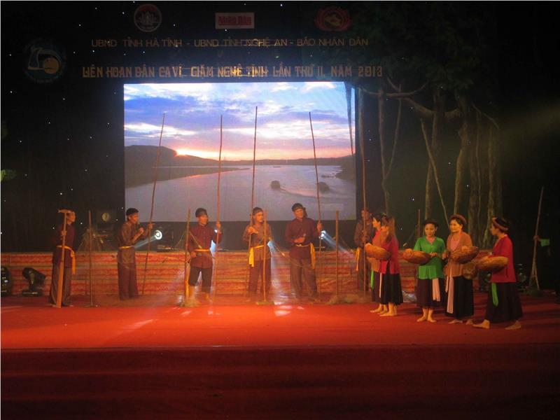 Ha Tinh folk singing festival
