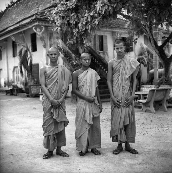 Image of Khmer people in the exhibition