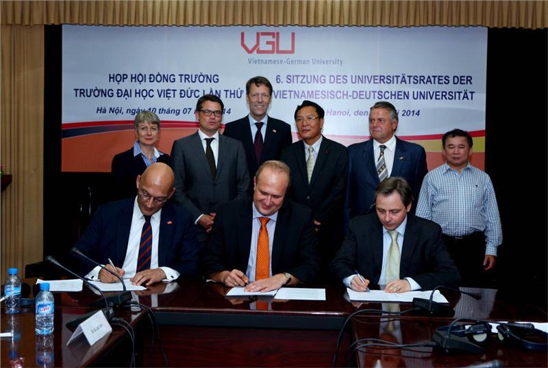 Leaders of Vietnamese-German University
