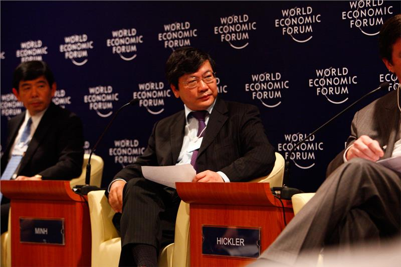 Mr. Pham Ngoc Minh at World Economic Forum