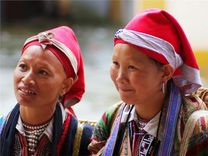 Red Dao ethnic group