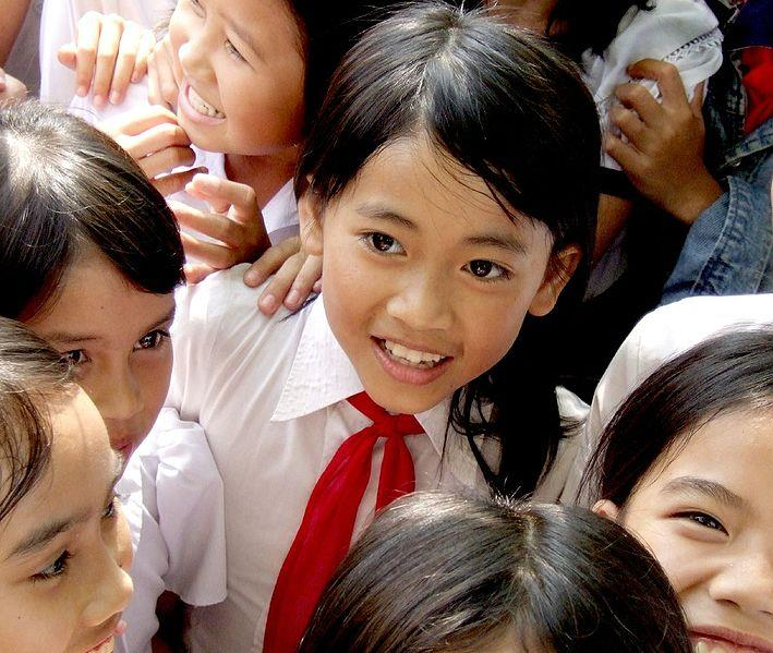 School children in Vietnam