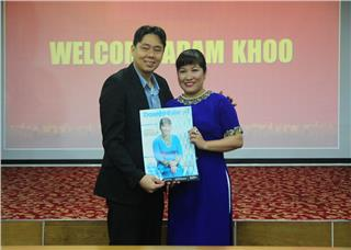 Adam Khoo shared his secret to success for Vietnamese businessmen