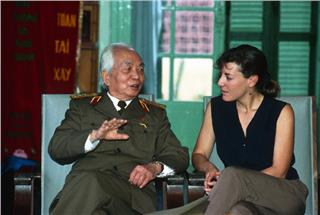 Catherine Karnow and photos of General Giap
