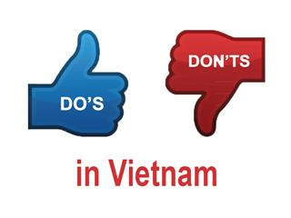 Dos and donts in Vietnam during communication