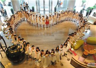 Honeymoon and Wedding Perfect Exhibition 2014 in Hanoi