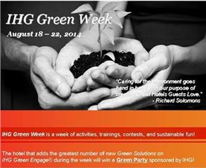 IHG Green Week 2014 held at Intercontinental Hanoi Westlake