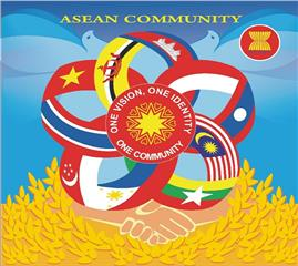 Vietnam stamp collection issued by ASEAN countries