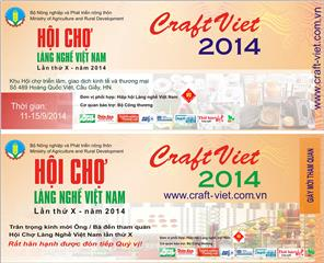 Opening Craft Viet Fair 2014