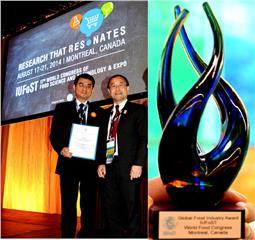 Vinamilk won IUFoST Award 2014