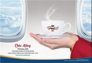 Vietnam Airlines cooperates with Vinacafe