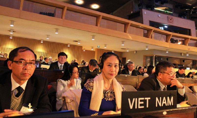 UNESCO conference on Vi Giam folk song recognition