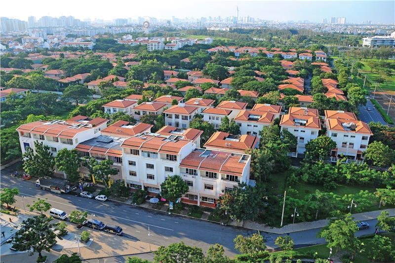 Urban area in Vietnam