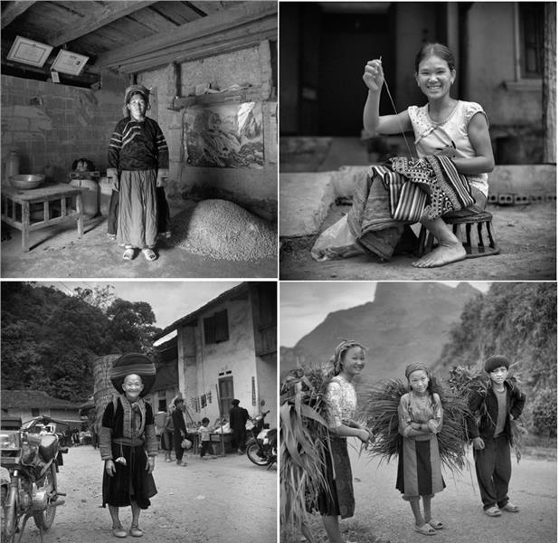 Vietnam ethnic people in their life