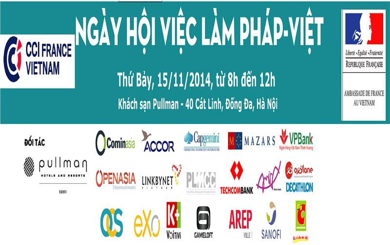 Vietnam - France Job Fair banner