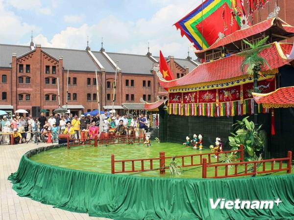 Vietnamese Water Puppet captivates Japanese audiences
