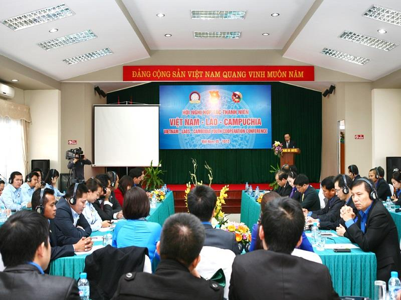 Vietnam-Laos-Cambodia Youth Cooperation Conference