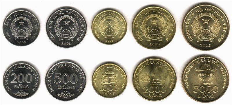 Vietnam Coins Set