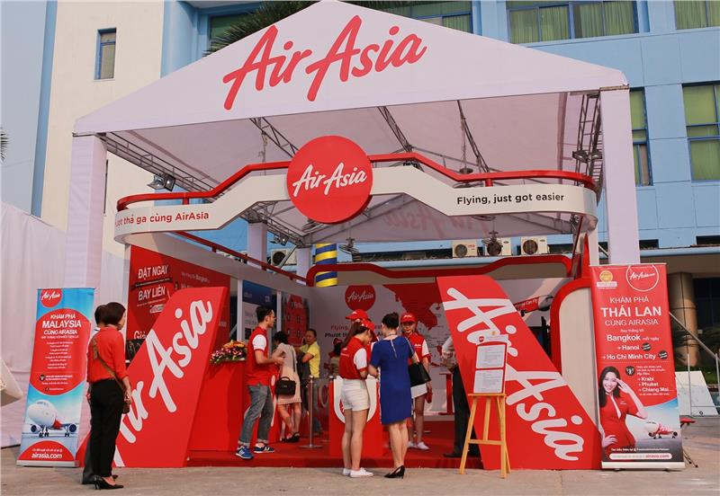 AirAsia booth at VITM 2015
