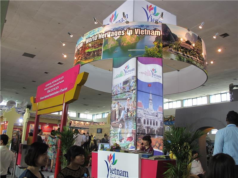 Booths in VITM 2015