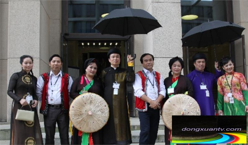 Vietnamese culture introduced in the festival