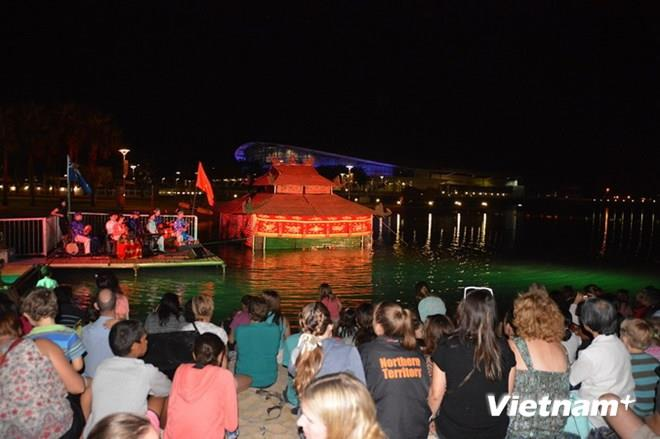 Vietnamese water puppet introduced to Australian public