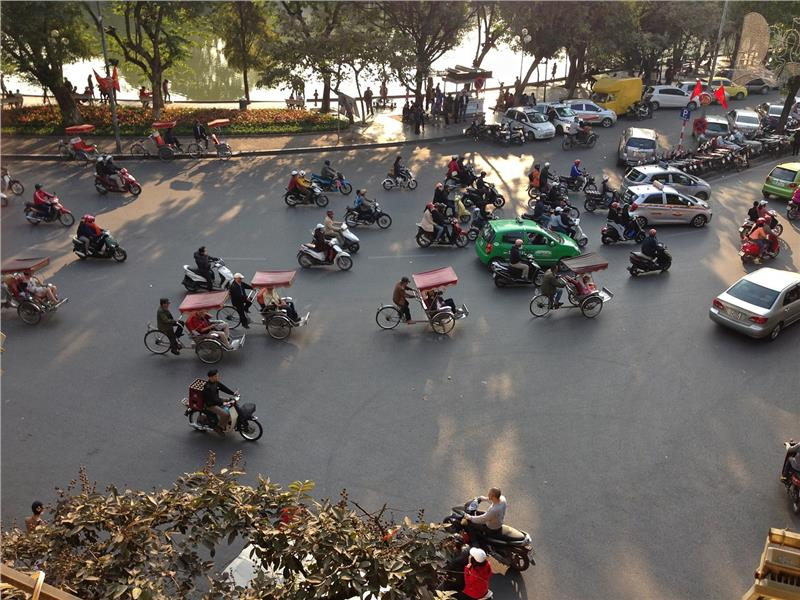 Transport in Hanoi