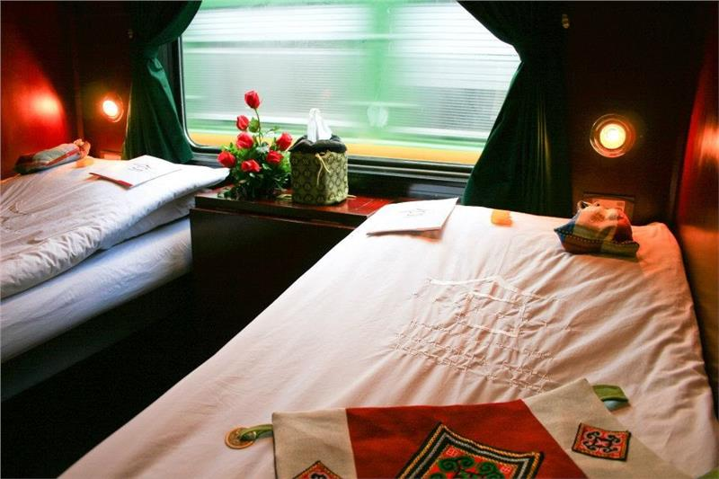 Victoria Express train to Sapa