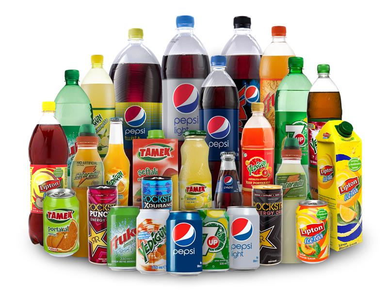 Various kinds of drink