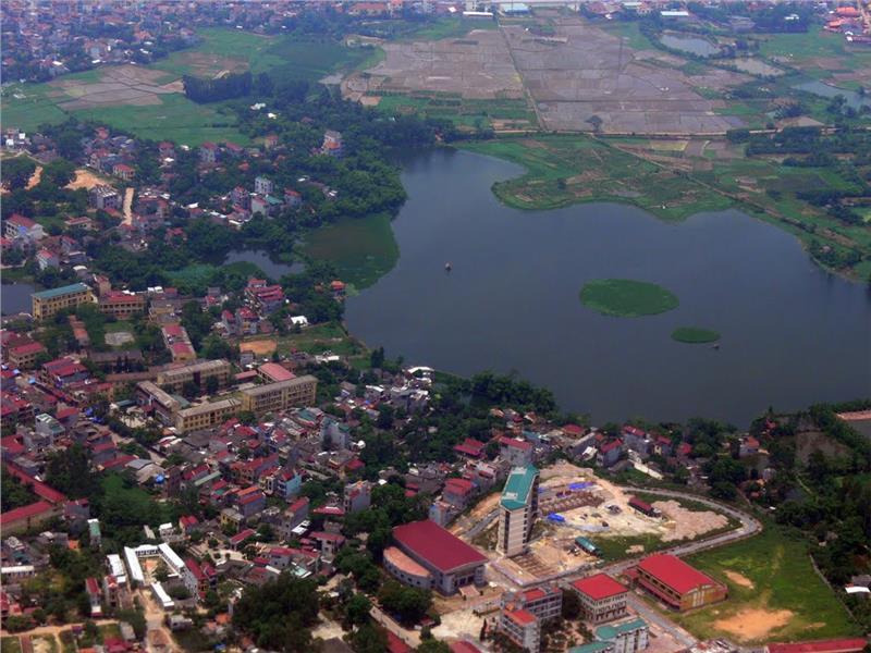 A view of Vinh Phuc City