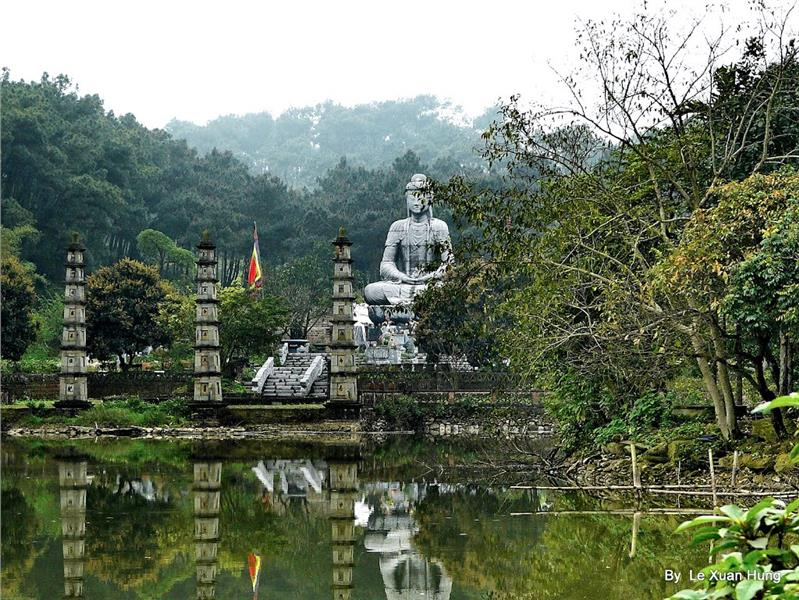 Buddha Statute At Luong Son