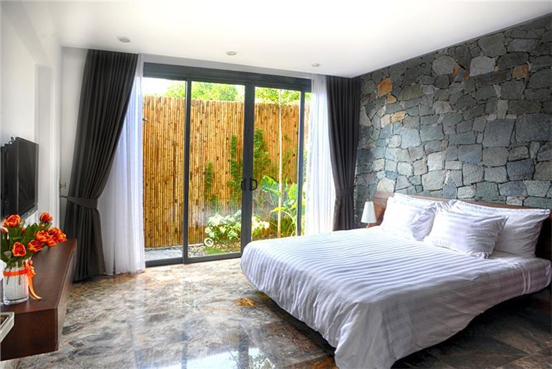 Guest room with unique design