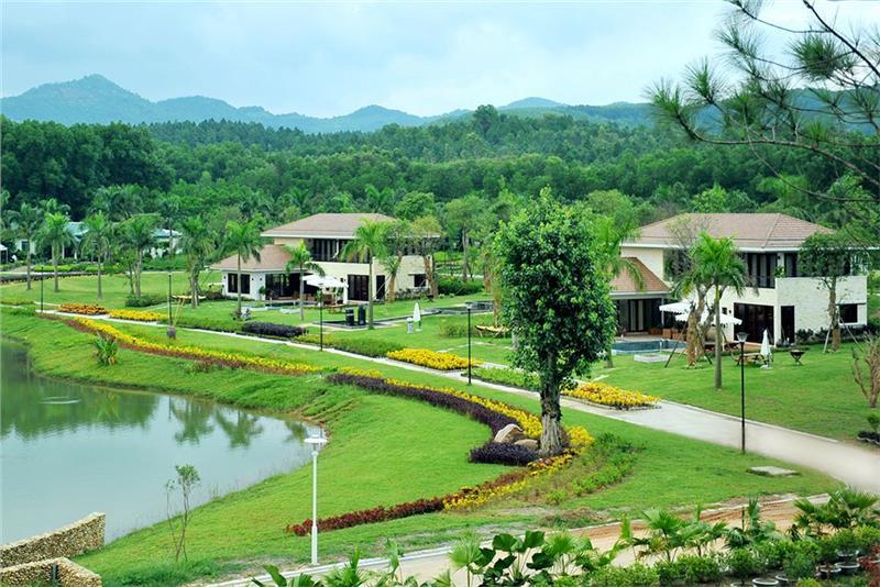 The panorama of Flamingo Dai Lai Resort
