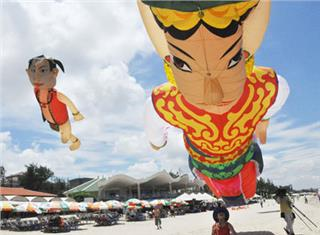 Vung Tau closed the International Kite Festival 2014