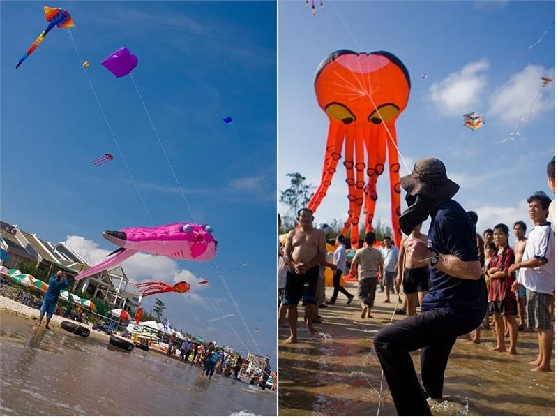 Vung Tau Kite Festival in 2009