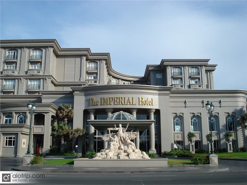 Luxury Vietnam hotel with The Imperial hotel in Vung Tau