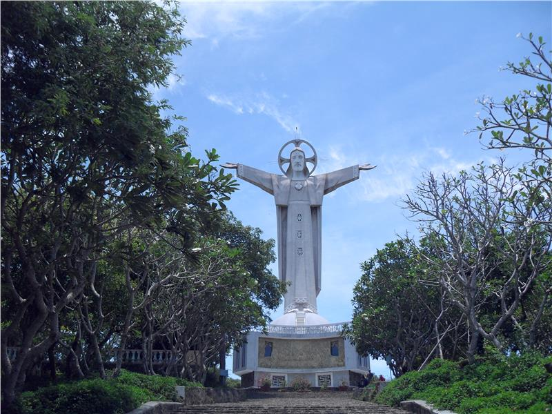 Jesus Christ Statue in Vung Tau City