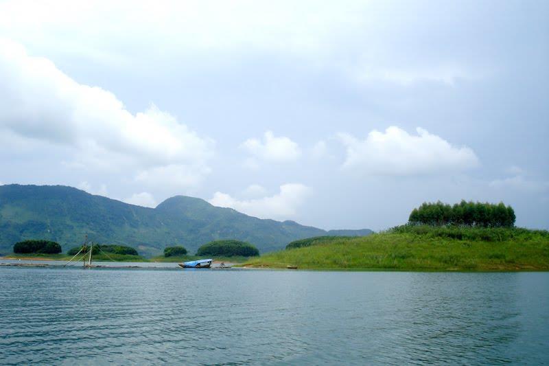 Thac Ba Lake in Yen Bai