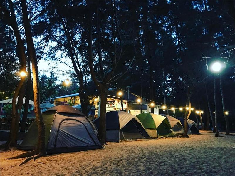 Những địa điểm cắm trại qua đêm gần thành phố Hồ Chí Minh