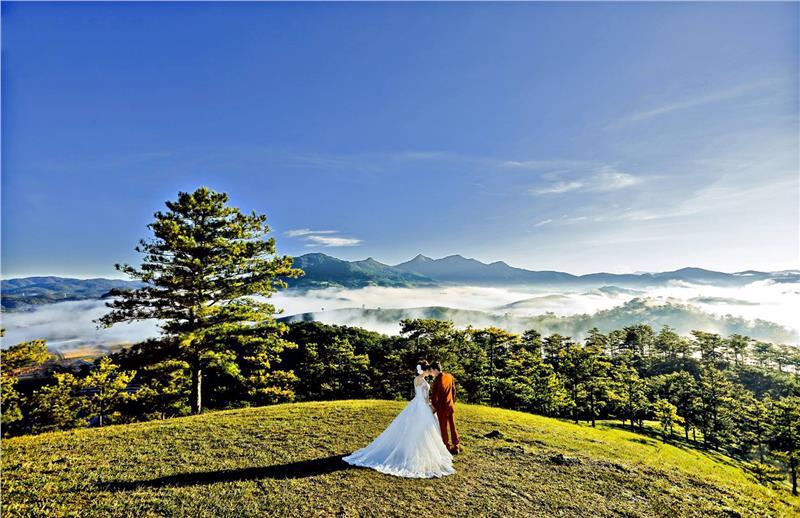 Những địa điểm chụp ảnh cưới ở Đà Lạt đẹp - độc - lạ